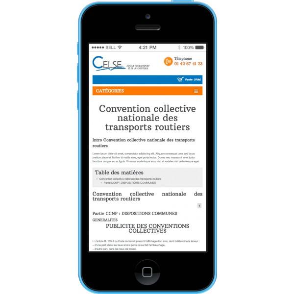 Abonnement D Un An Convention Collective Nationale Des Transports